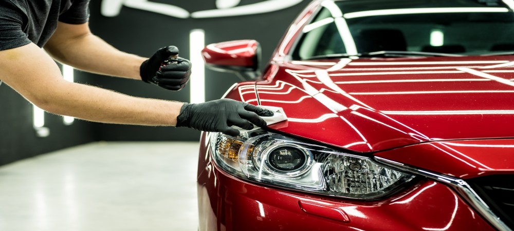 red car coating